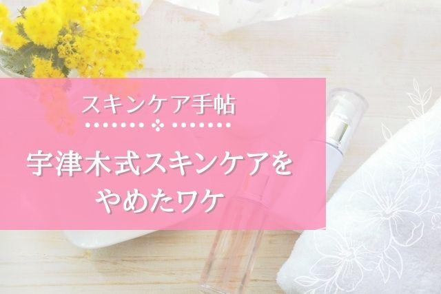 【宇津木式スキンケアをやめたワケ】石鹸洗顔とワセリンによる弊害とは